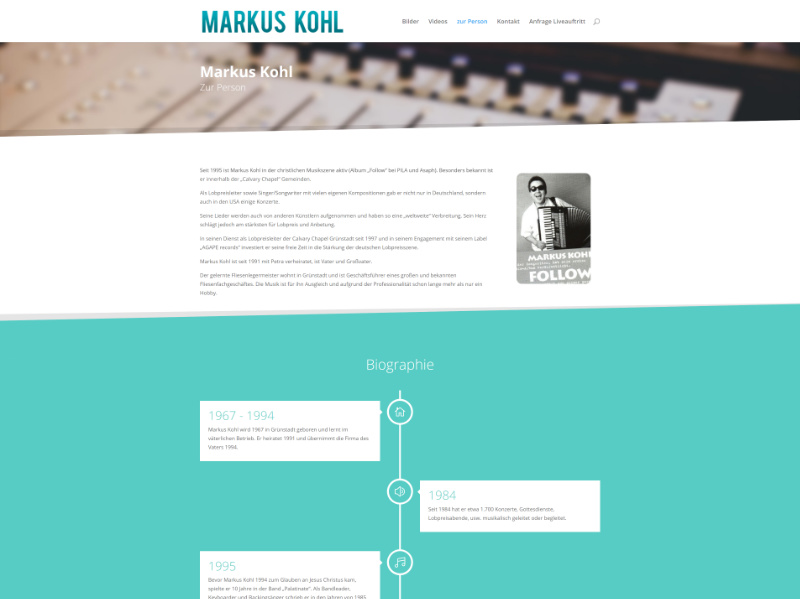 Musiker Markus Kohl