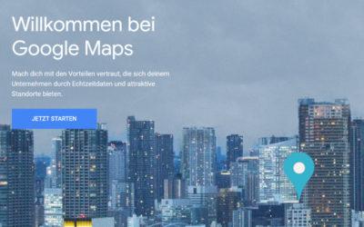 Google Maps verwenden – API Schlüssel erzeugen
