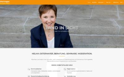 Helma Ostermayer, BERATUNG. SEMINARE. MODERATION.